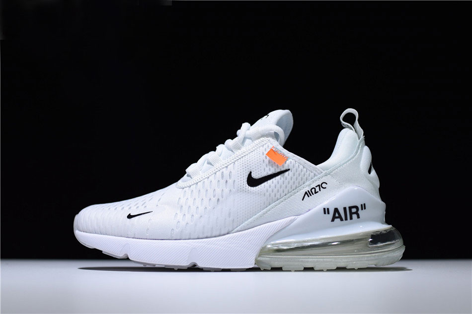 Mens and WMNS Off White x Nike Air Max 270