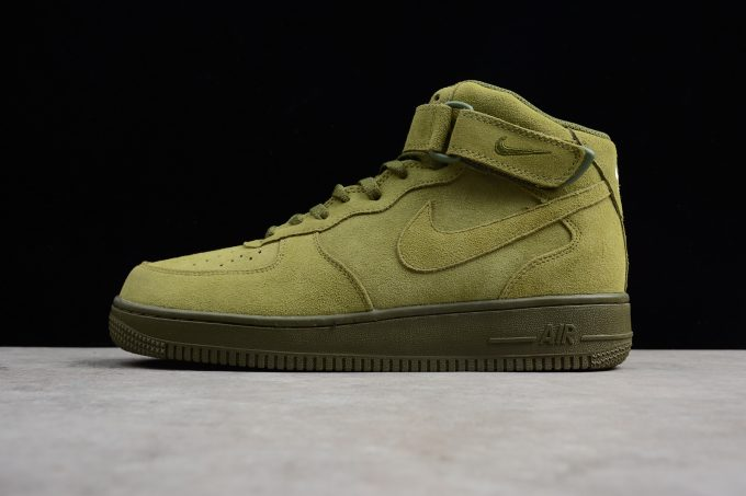 """online store 92b12 a15a0 Nike Air Force 1 Mid  07 """"Legion Green"""" Men s Size 315123-302 For Sale"""