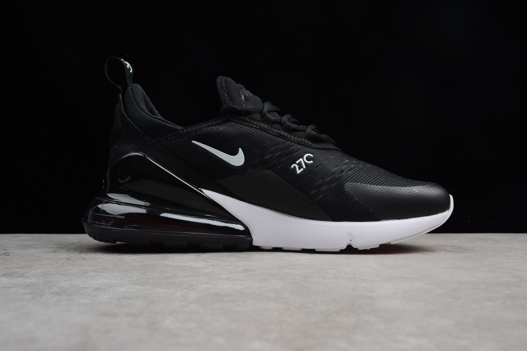Nike Air Max 270 Black White Ah8050 002 Men S And Women S Size