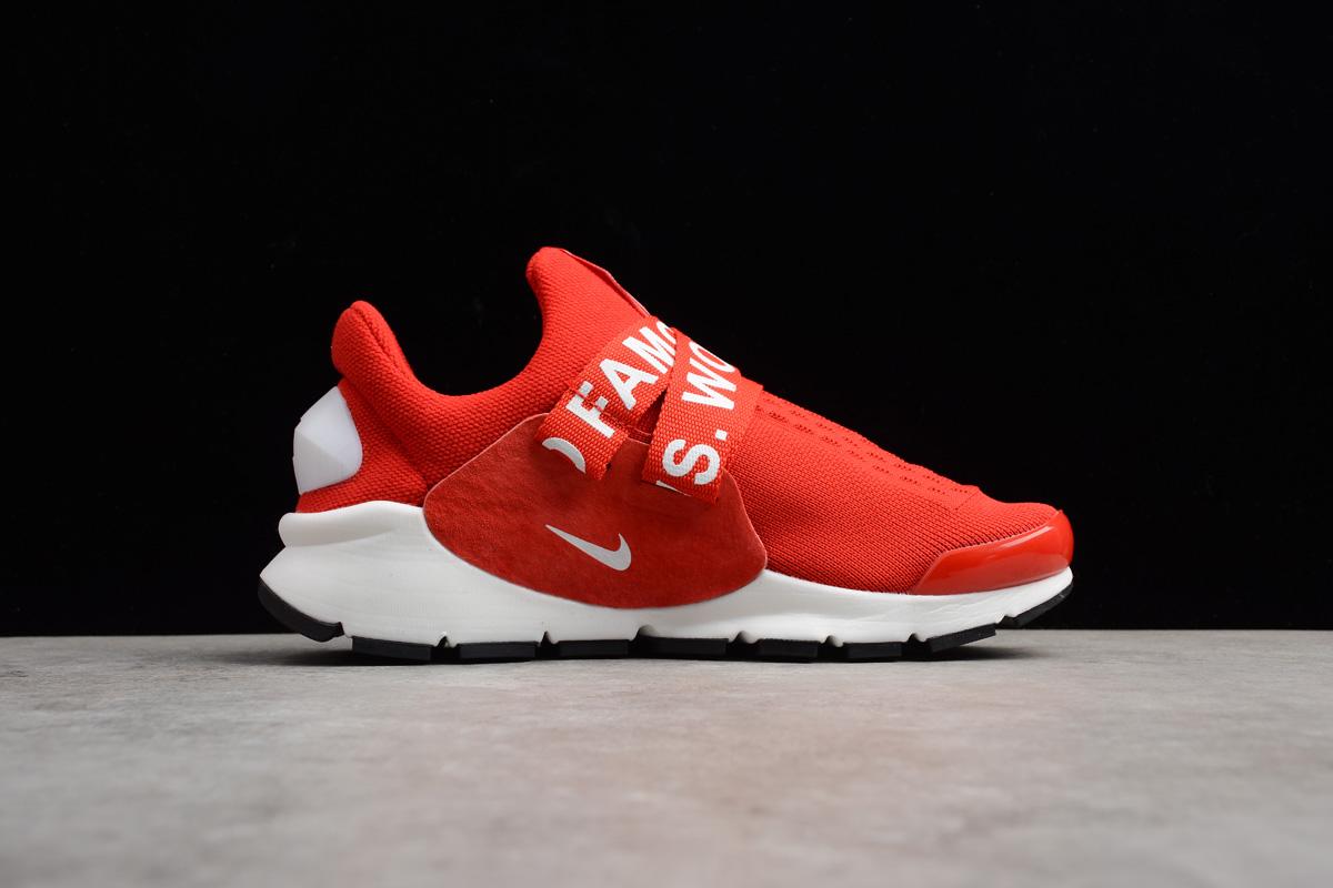 New Nike Sock Dart x Supreme White Red