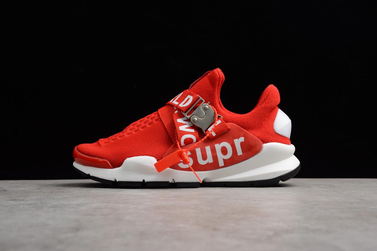super popular da791 d9d38 New Nike Sock Dart x Supreme White Red Men's and Women's Size Shoes
