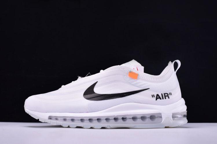 The 10 Air Max 97 OG AJ4585 100 Sneakers (WhiteConeIceBlue)