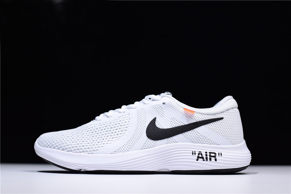watch 489c3 33003 Off-White x Nike Revolution 4 White Running Shoes Mens and WMNS Size  908988-012 For Sale