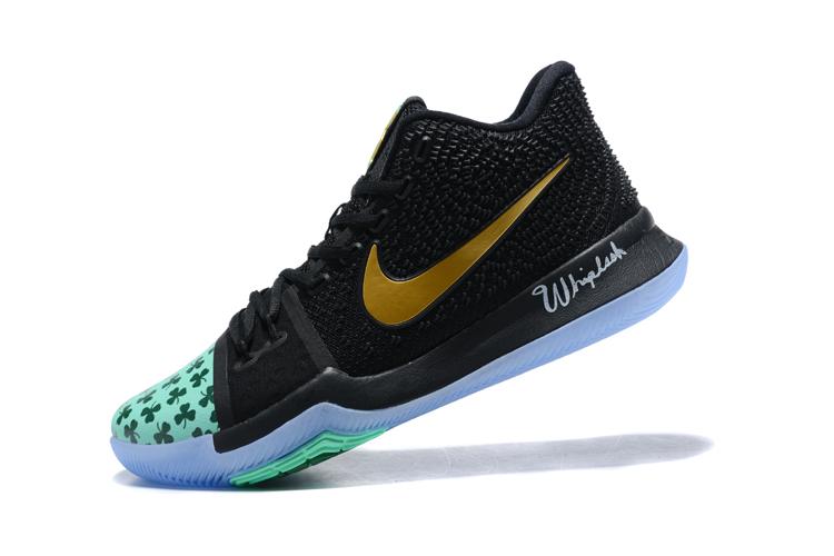 Kyrie Irving's Shamrock Nike Kyrie 3 PE