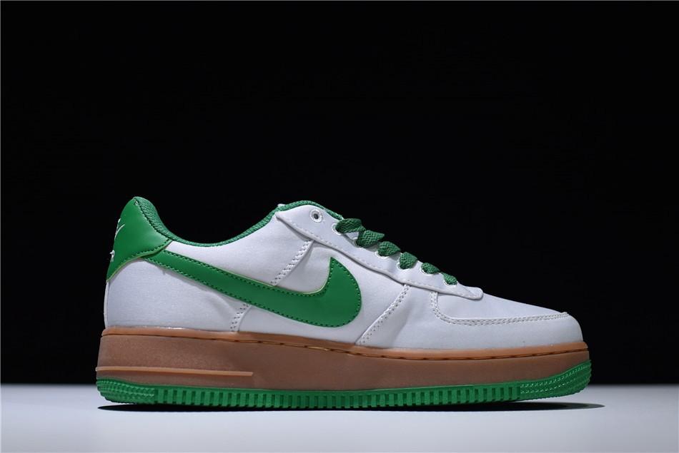 nike air force 1 07 lv8 utility preto e verde