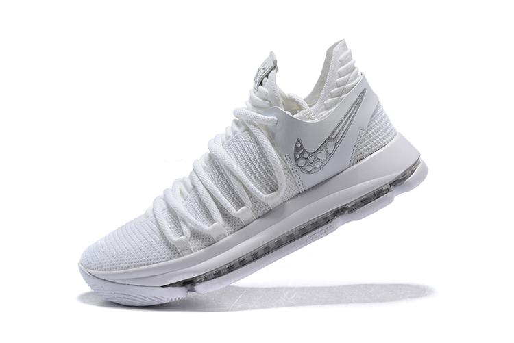 Men's Nike KD 10 Platinum Tint/Vast