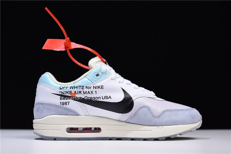 Men's Off-White x Nike Air Max 1 White