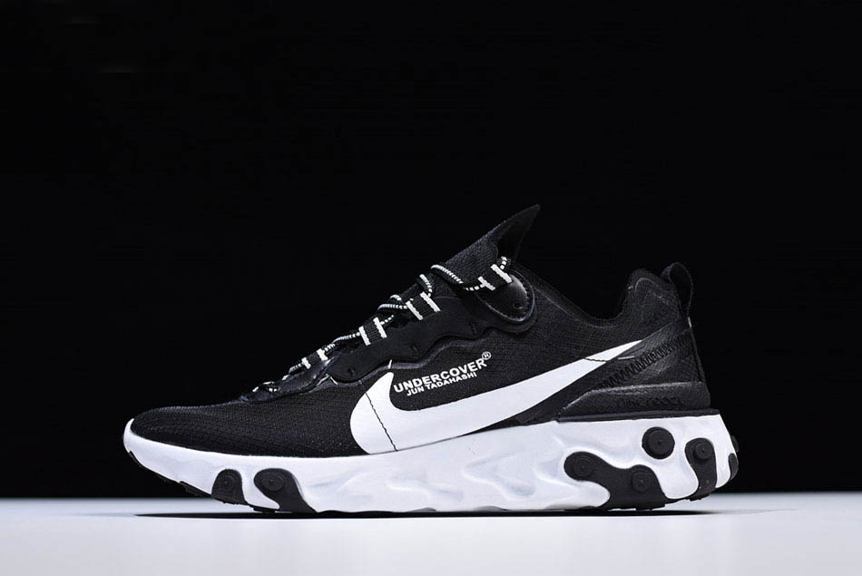 Undercover x Nike React Element 87 Black White Men's and Women's Size AQ1813 337