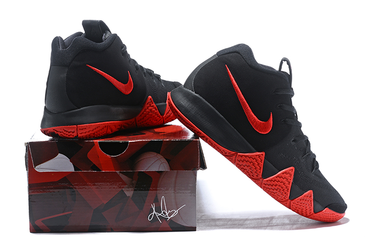 Nike Kyrie 4 Black Red Men's Size
