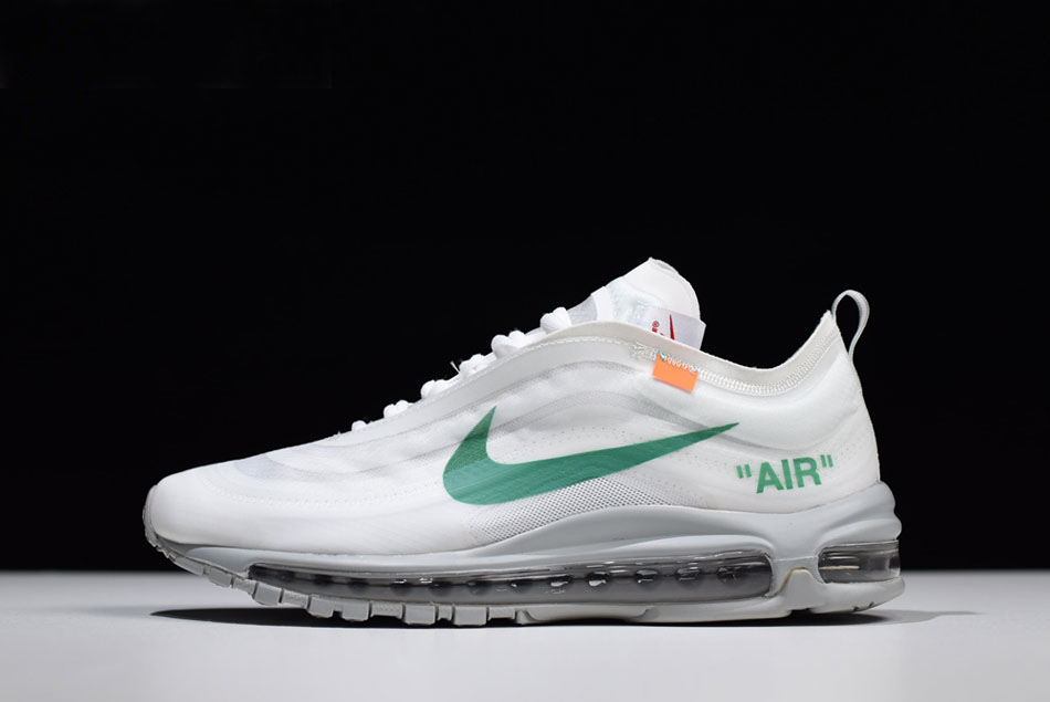 Virgil Abloh's Off White x Nike Air Max 97 OG Off WhiteWolf