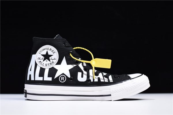 04c11e32bf74 Converse All Star 100 Colors HI Big Logo Black White For Sale