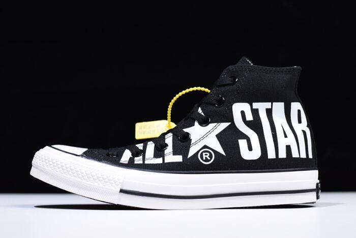 81b787658cfd Converse All Star 100 Colors HI Big Logo Black White For Sale