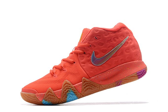 "Nike Kyrie 4 ""Lucky Charms"" Bright Crimson Multi-Color BV0428-600 567409bfd"