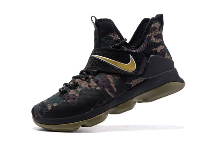 "17fd670f3bba Nike LeBron 14 ""Camo"" Men s Basketball Shoes On Sale"