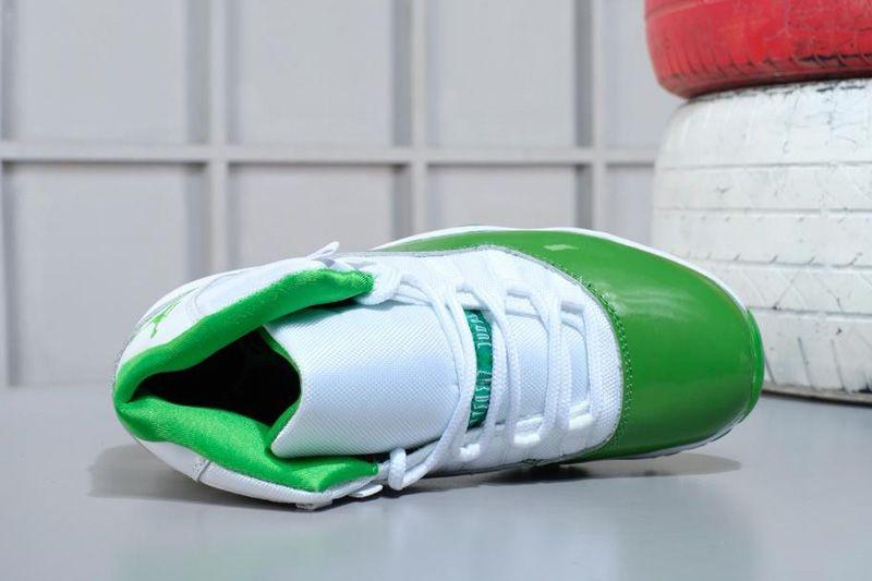 0ae49b73a78 2018 Air Jordan 11 Apple Green/White Shoes M07105634