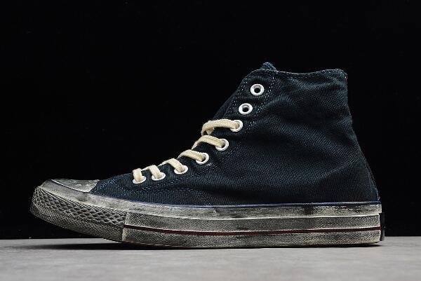 43dfd894e856 Converse Chuck Taylor All Star vintage Wash Black Blue Red 159566C