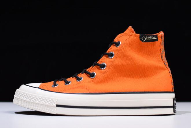 bdb6253fff5e GORE-TEX x Converse Chuck Taylor All Star 1970s High Orange 162351C