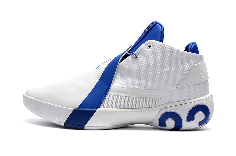 new product f65a5 b69cc Jordan Ultra Fly 3 White Royal Blue For Sale