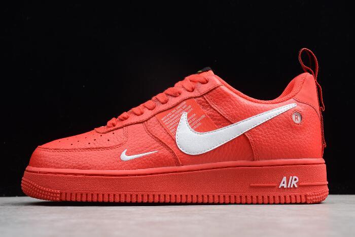 Nike Air Force 1 '07 LV8 Utility Red/White AJ7747-600