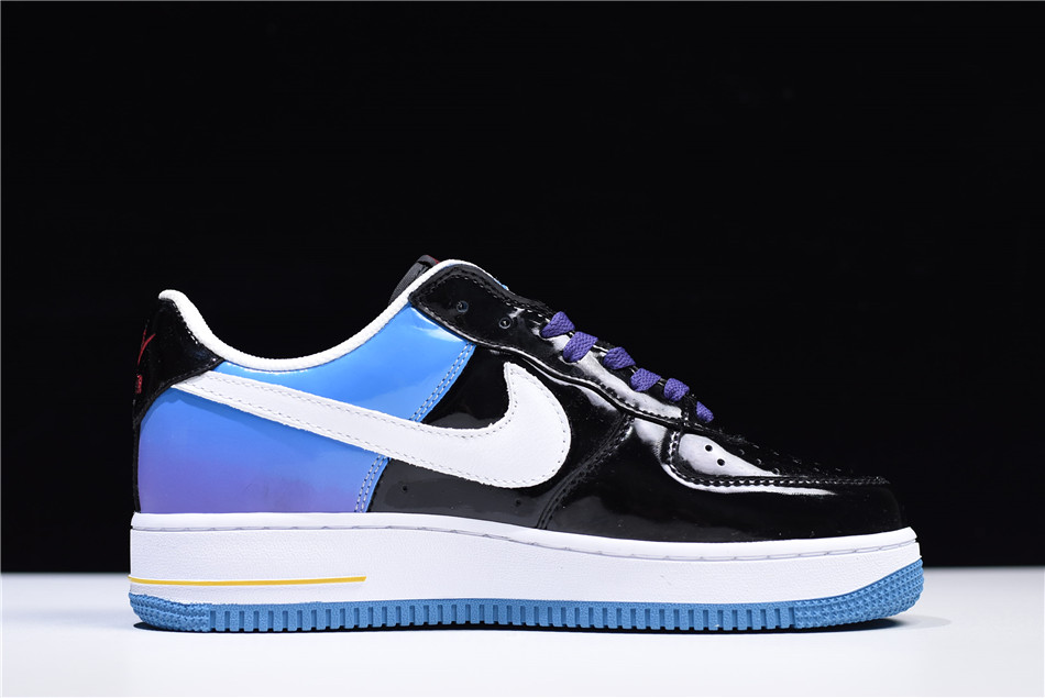 Nike Air Force 1 Low Playstation Black Blue White Purple Varsity