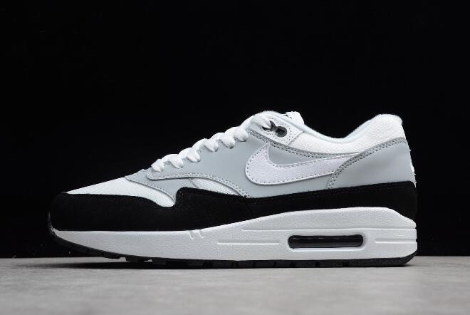 huge selection of f1f4b 6697b Nike Air Max 1 Wolf Grey White-Black Men s Size AH8145-003