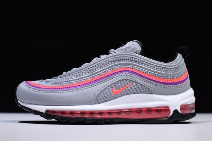 537587ee81 Nike Air Max 97 OG Wolf Grey Solar Red Vivid Purple 921733-009