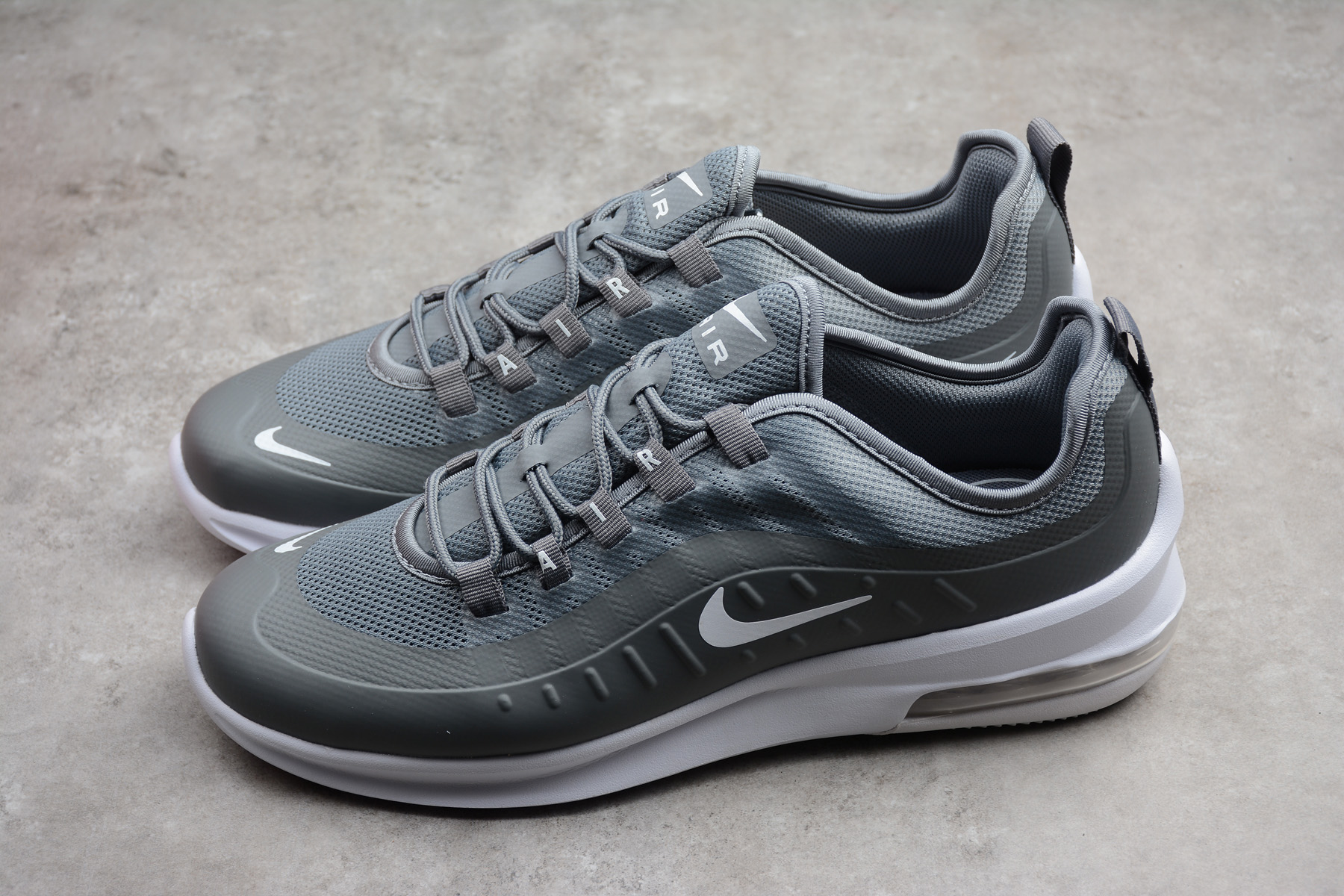 Nike Air Max Axis Cool Grey\/White Running Shoes AA2146-002