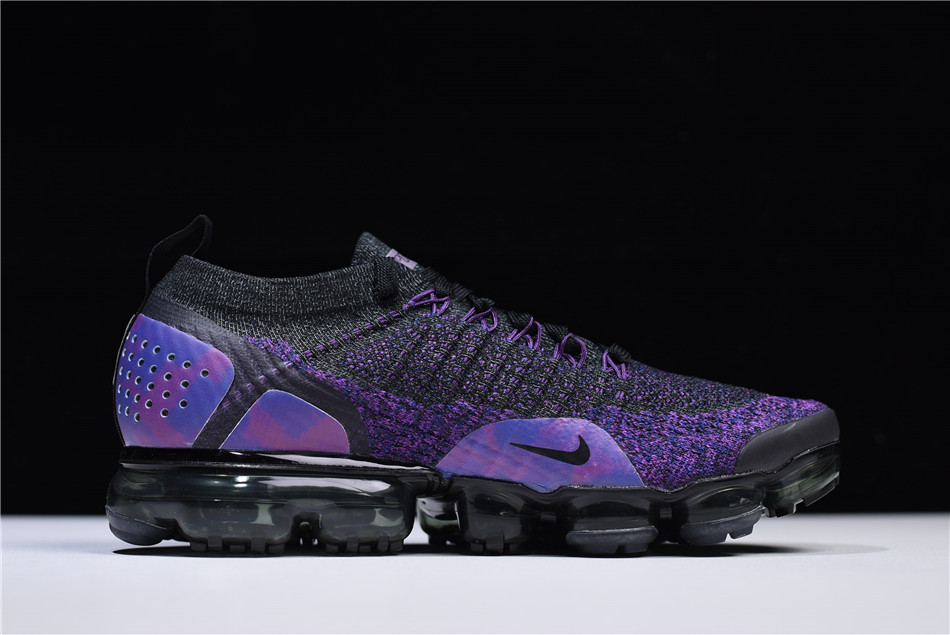 Nike Air VaporMax Flyknit 2.0 Black Night Purple 942842-013 f171a1f41