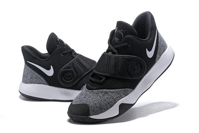 Nike KD Trey 5 VI Black White-Grey AA7067-001 For Sale cbf107efbcb