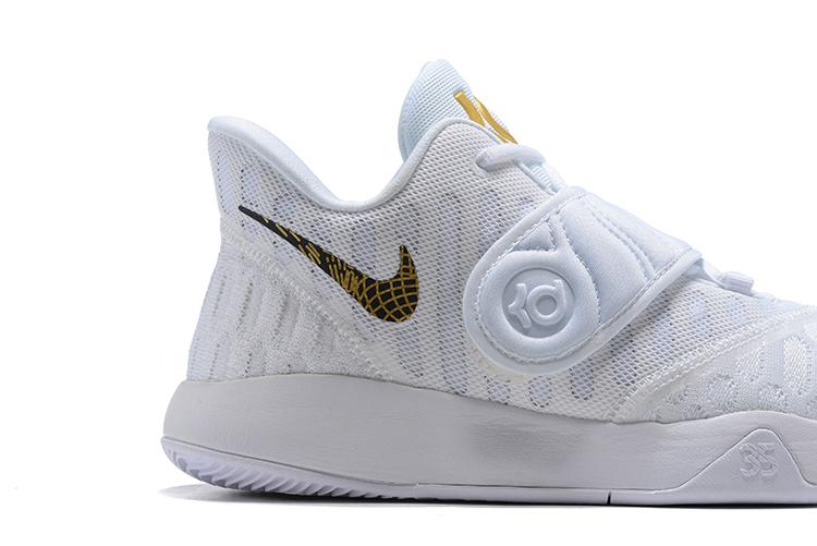 Nike KD Trey 5 VI White Gold Men's