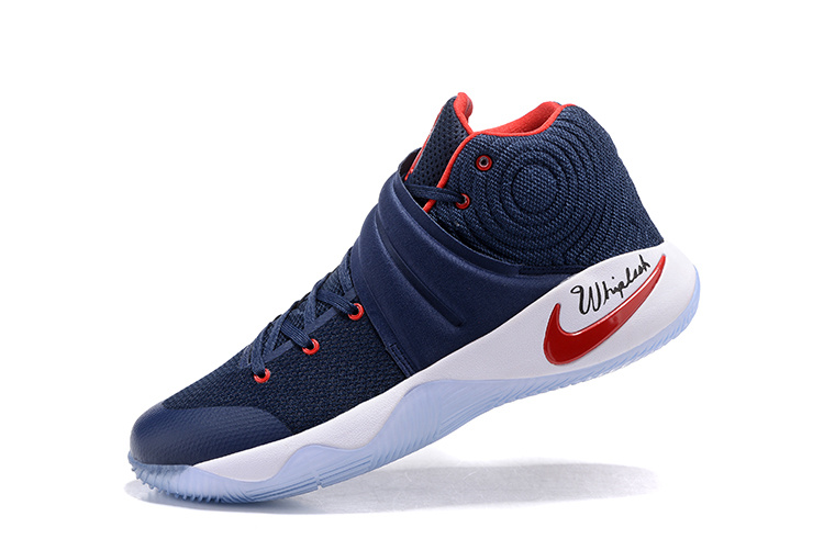 best sneakers f4f3c 9eeff Nike Kyrie 2 Navy Blue/Red-White For Sale