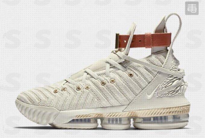 "promo code 83c30 89860 Nike LeBron 16 ""HFR"" Sail White Light Bone BQ6583-100"