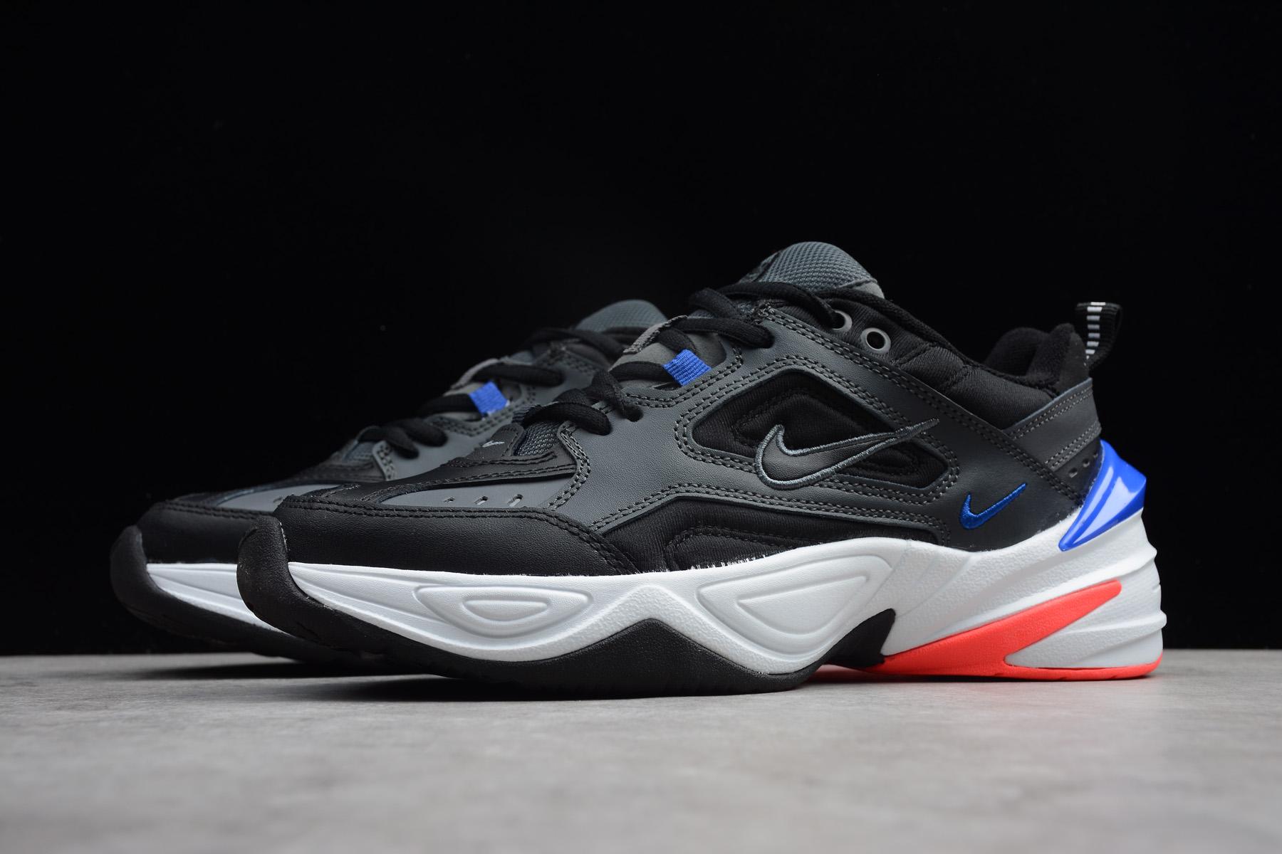 Nike M2K Tekno Dark GreyBlackBaroque BrownRacer Blue AV4789-