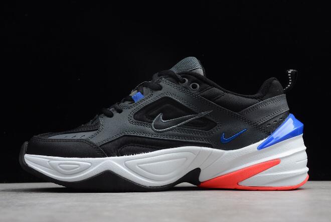 competitive price a3d98 842af Nike M2K Tekno Dark Grey Black Baroque Brown Racer Blue AV4789-003