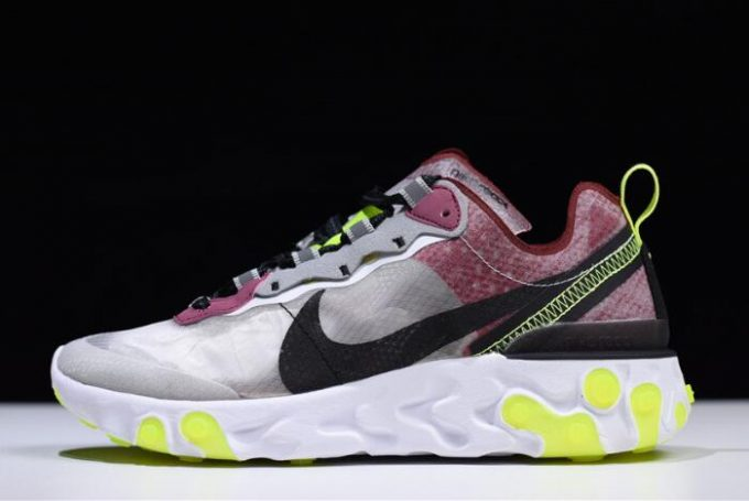 290ed91264dd Nike React Element 87 Desert Sand Cool Grey-Smokey Mauve AQ1090-002 For Sale
