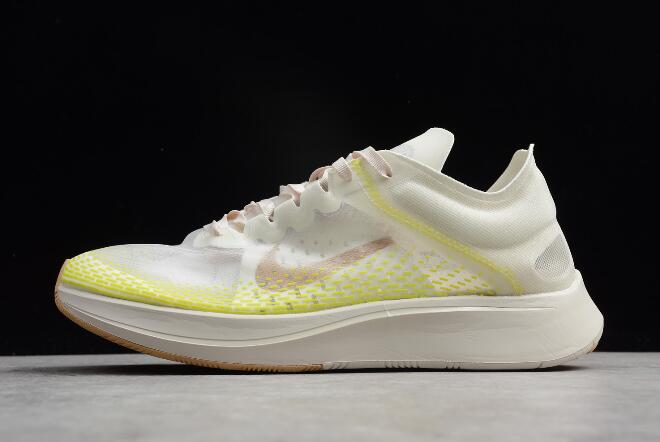 competitive price 41a02 18ab0 Nike Zoom Fly SP Fast Light Orewood Brown/Bright Cactus-Elemental Gold  AT5242-174