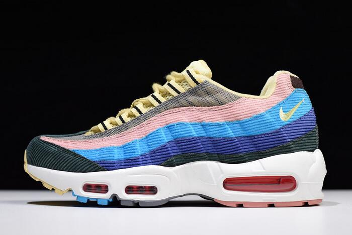 Handsome Nike Air Max 95 Essential Sean Wotherspoon Hybrid Women's Men's Running Shoes #SE006682