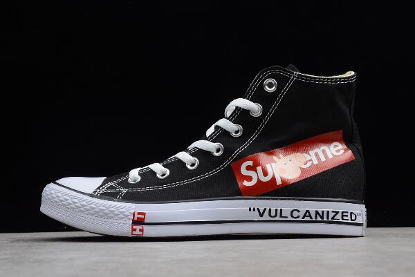 1e67155d0ba Supreme x Converse Chuck Taylor All Star Black White 180760C For Sale