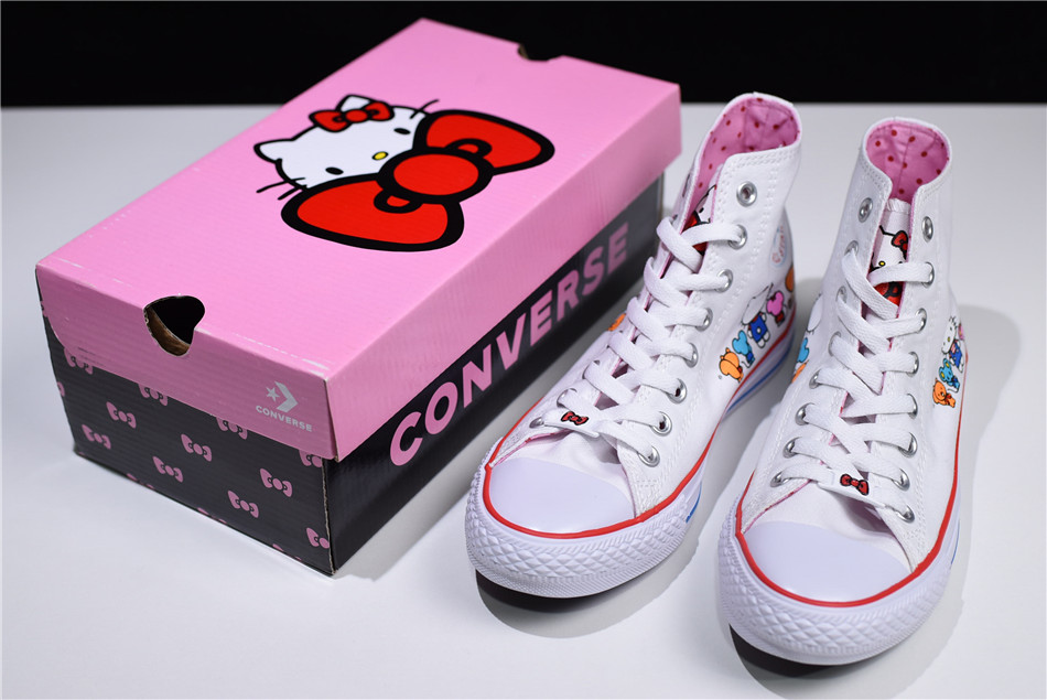CONVERSE x Hello Kitty Chuck Taylor All Star White & Prism