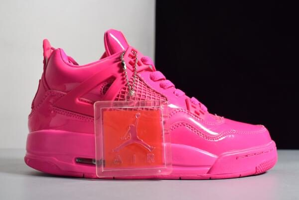 3396abe44a7 Women's Air Jordan 4 Retro GS 11Lab4 Pink Patent Leather For Sale