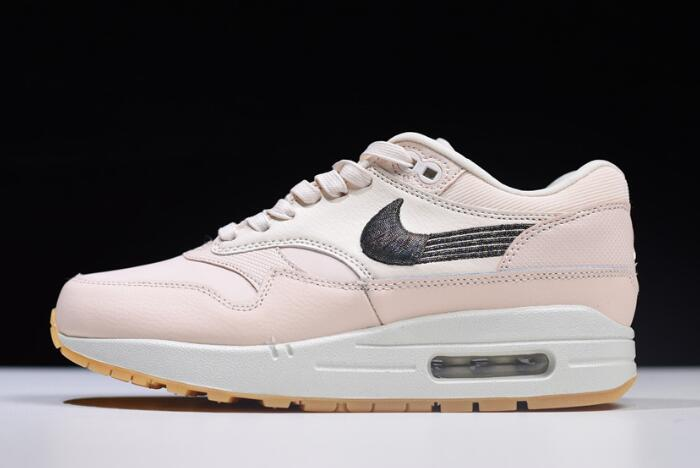 0c2044f05 Women s Nike Air Max 1 Premium Guava Ice Gum Yellow Off-White 454746-800