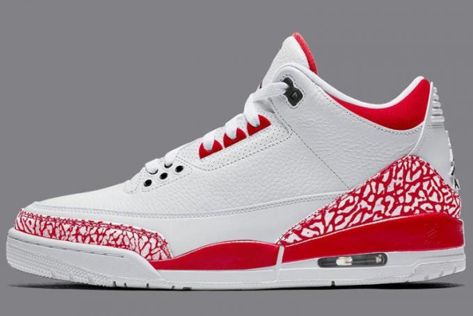 "Air Jordan 3 Retro SE ""Tokyo"" White/Fire Red-Black CZ6431-100"