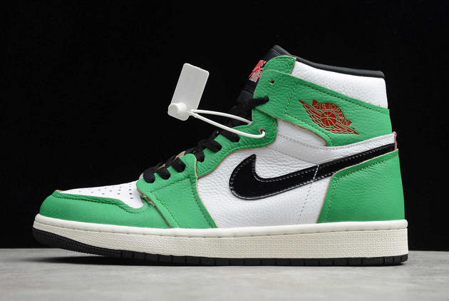 "2020 Air Jordan 1 High OG ""Lucky Green"" Lucky Green/White-Sail-Black DB4612-300"
