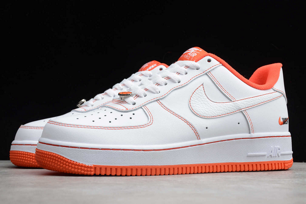 2020 Cheap Nike Air Force 1 Low Rucker Park White/Team Orange-Black CT2585-100 Shoes-2