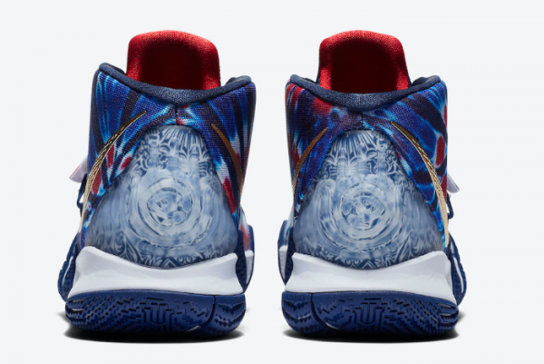 """Nike Kyrie S2 Hybrid """"Tie-Dye"""" Blue Red Shoes CT1971-400 Sale-3"""
