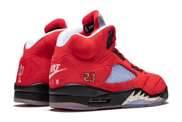Cheap Air Jordan 5 Trophy Room University Red CN2317-600 Shoes-2