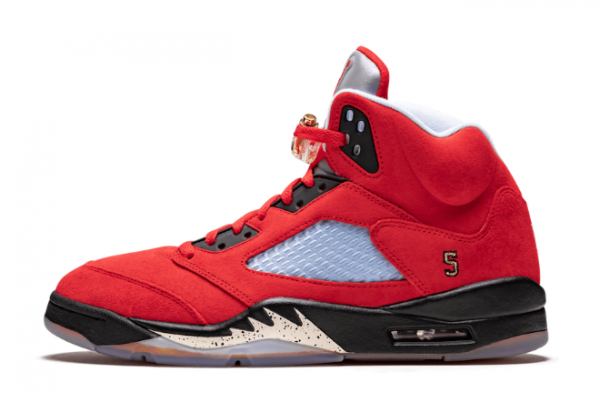 Cheap Air Jordan 5 Trophy Room University Red CN2317-600 Shoes