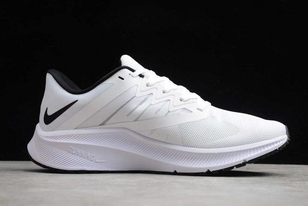 Latest Nike Quest 3 White Black CD0230-102-1