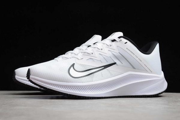 Latest Nike Quest 3 White Black CD0230-102-2