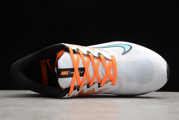 Latest Nike Quest 3 White/Orange-Black CD0232-101-3